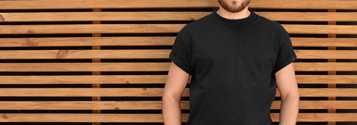 T-shirt en laine